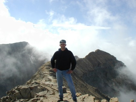 Greg Jones, Mount Timpanogos, September 4, 2004