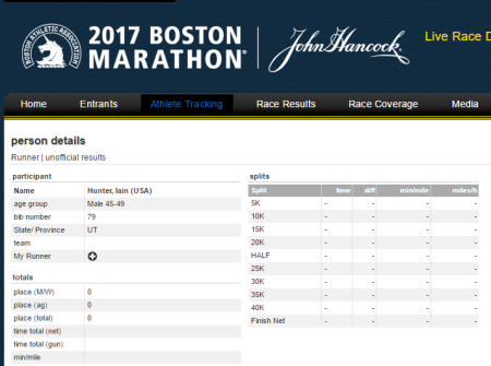 20170417 Boston Marathon Iain Hunter